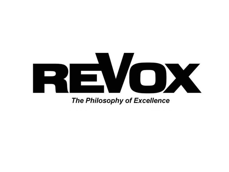 Logo der Firma ReVox (© ReVox)
