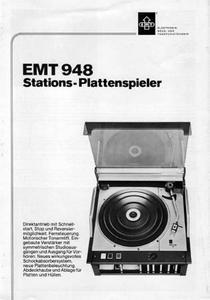 EMT 948 Stations Plattenspieler
