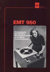 EMT 950 - Professionelle Schallplattenwiedergabemaschine