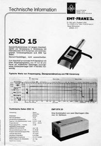 EMT Tondose - XSD 15