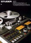 STUDER A810 - Professionelle Tonbandmaschine