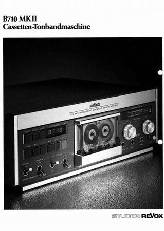 ReVox B710 MKII