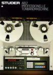 STUDER A812 - Professionelle Tonbandmaschine