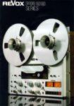 ReVox PR 99 Series - Verkaufsprospekt