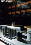 STUDER A800 - Professional Multichannel Tape Recorder