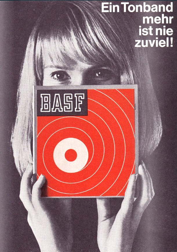 BASF Werbeanzeige 1968