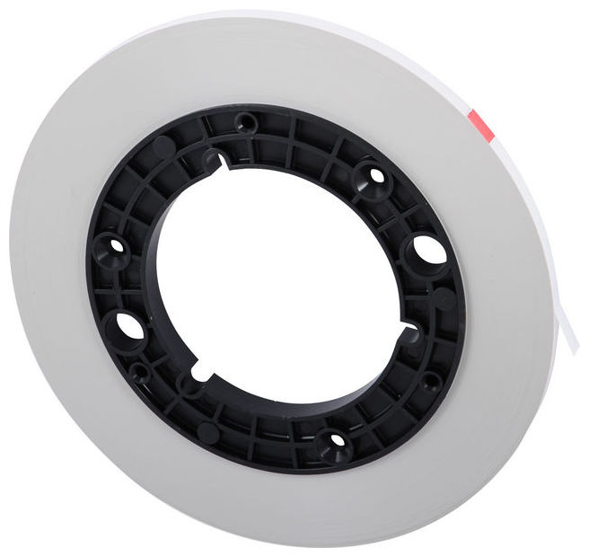 RMG Vorlaufband 1/4 Zoll - Farbe Weiß