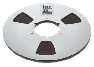 RTM LPR 35 1/4 Zoll - 1100m - NAB-Metallspule