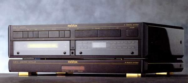 ReVox B250 S Verstärker und B200 S Controller