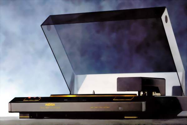 ReVox H9 Plattenspieler