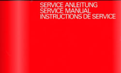 ReVox A700 Serviceanleitung (DE/EN/FR)