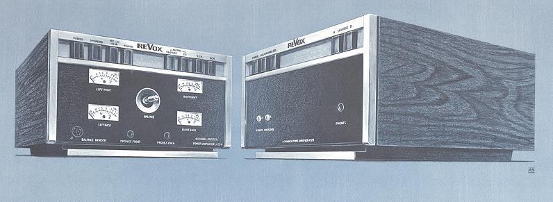ReVox A724 und ReVox A722