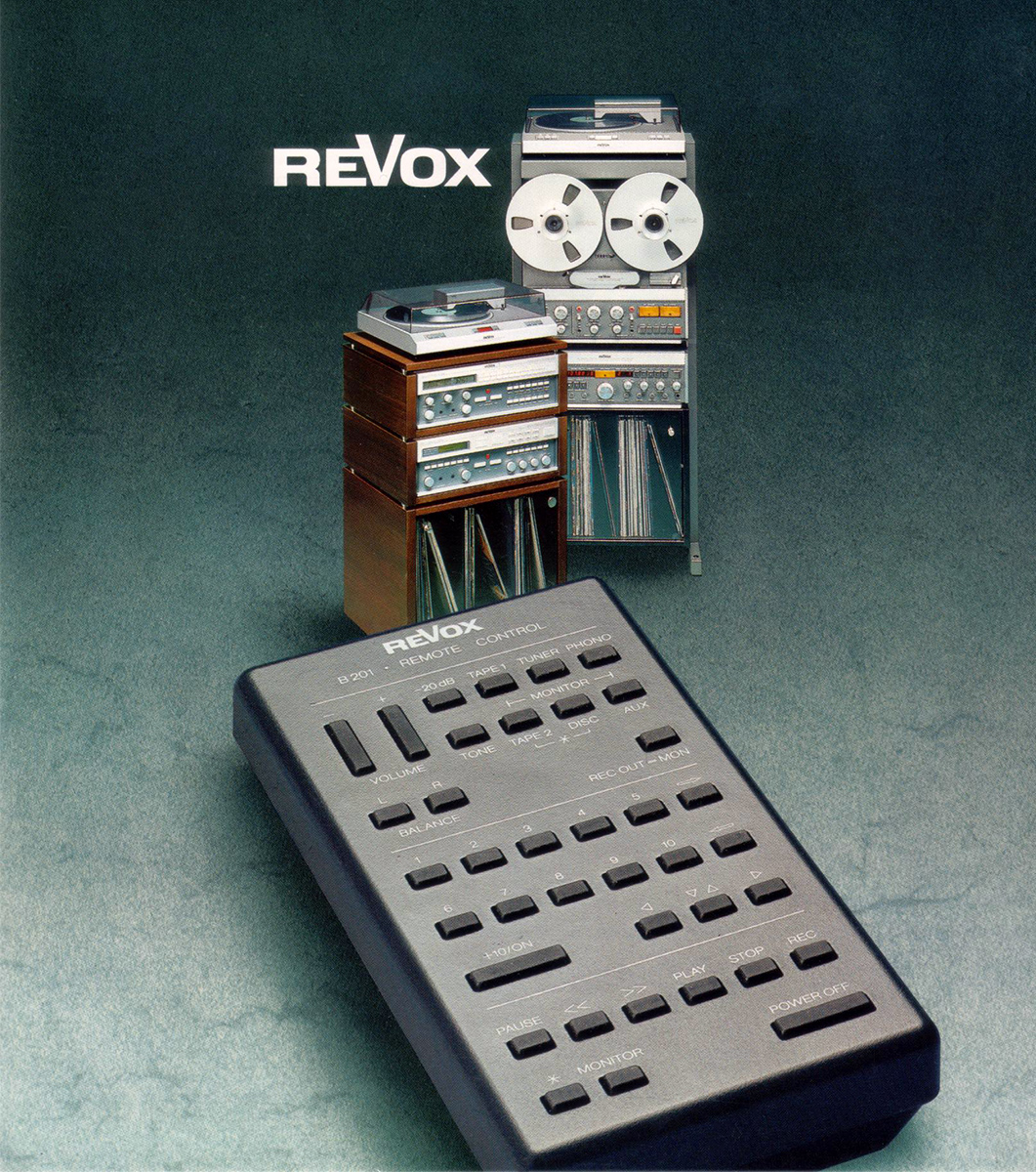 ReVox B201 - Remote Control