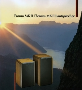 ReVox Forum MK II und ReVox Plenum MK II