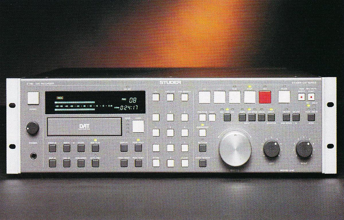 STUDER D780 - R-DAT-Recorder