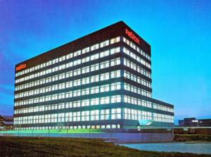 Der ehemalige Hauptsitz der Firma STUDER ReVox im schweizerischen Regensdorf bei Zürich.