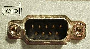 DE-9-Stiftleiste