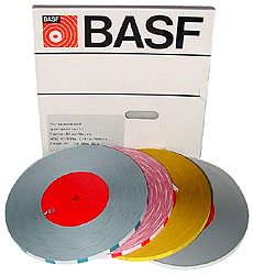 BASF Tonband Vorlaufbänder