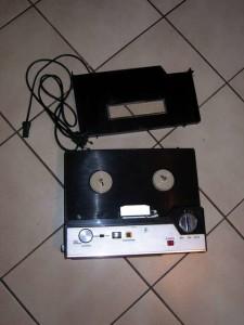 """Mein erstes Tonbandgerät von """"Photo Porst"""" aus dem Jahr 1972."""