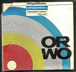 ORWO Tonband aus der DDR