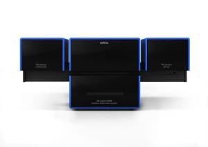 ReVox M100 mit zwei Modulen in blau