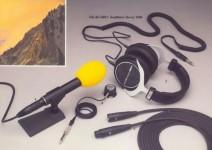 ReVox Kopfhörer und Mikrofone