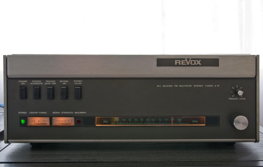 ReVox A76 MkII FM Tuner (Foto: D18 bei Flickr)