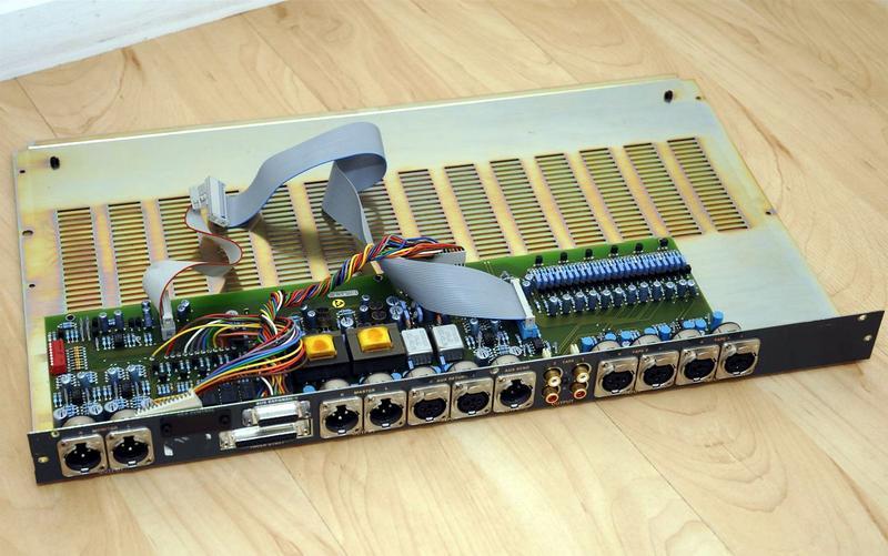 ReVox MR8 - Innenansicht