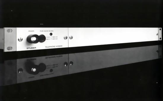 STUDER Telefonhybrid - analog