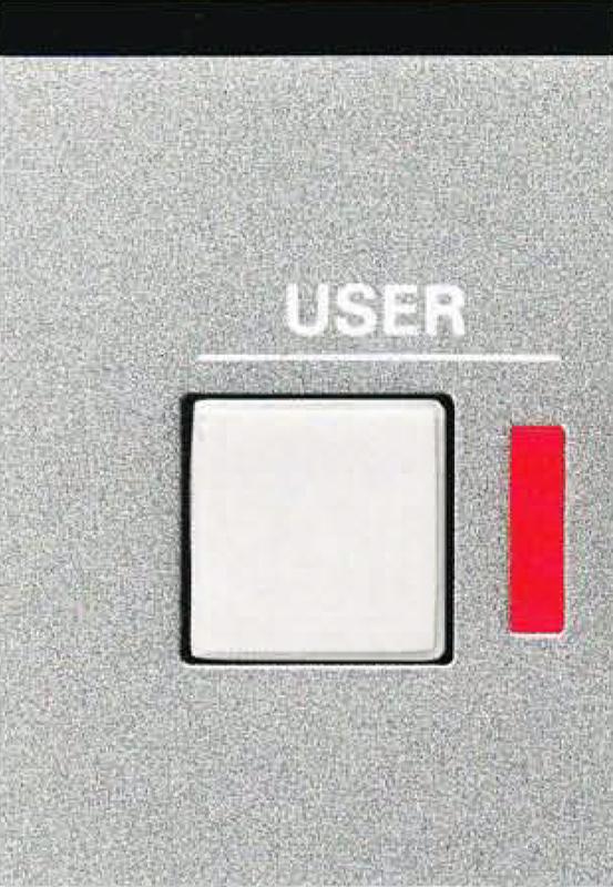 Über den Button User erhält man Zugang zum Menü mit verschiedenen Konfigurationsmöglichkeiten.