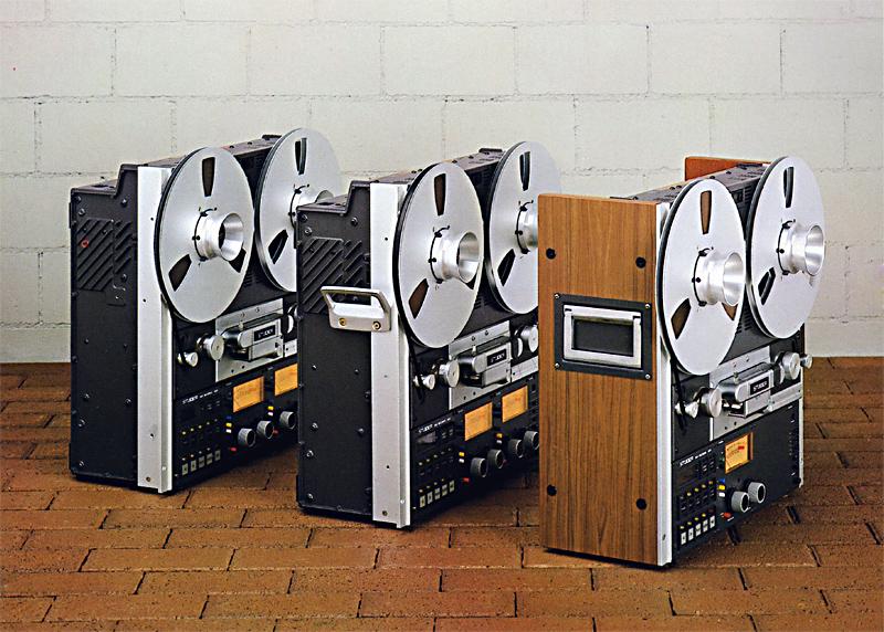 Verschiedene Versionen der STUDER A810.